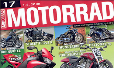 Fachzeitschrift Motorrad